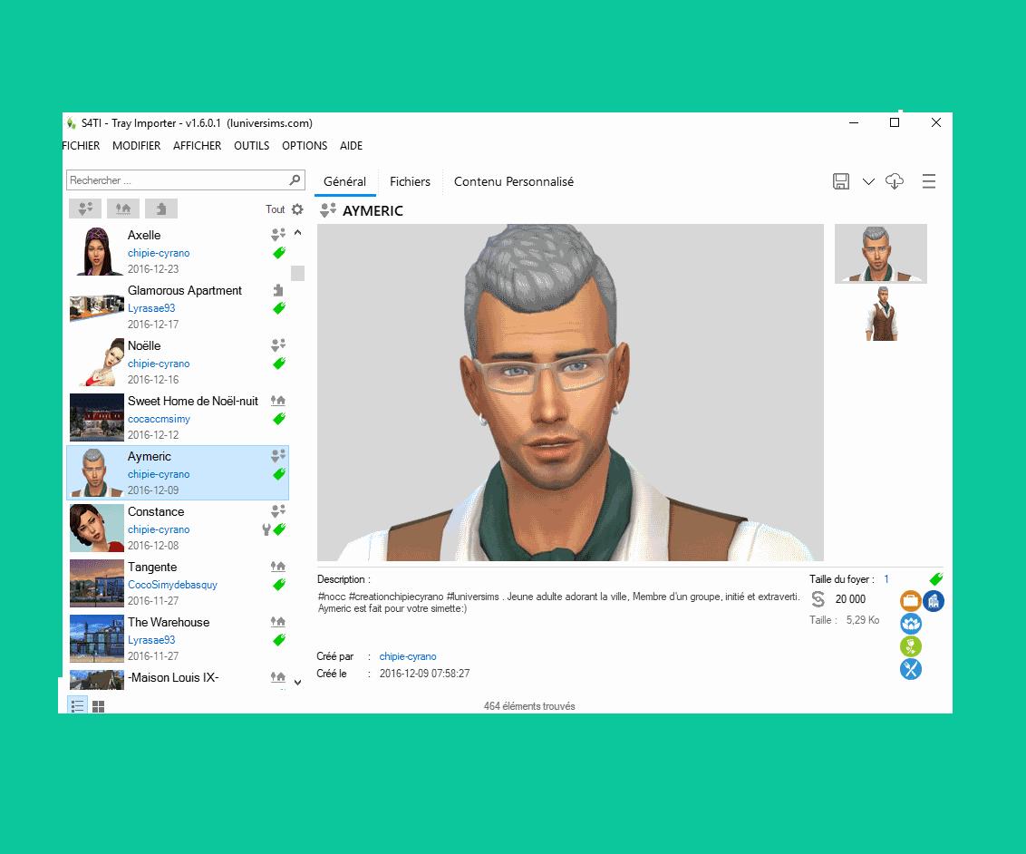 Скачать Tray Importer Sims 4: версия на русском языке