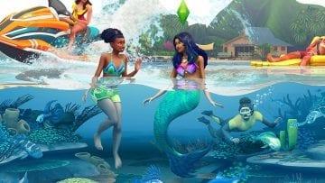 """Как стать русалкой в Sims 4 """"Жизнь на острове"""": все способы"""