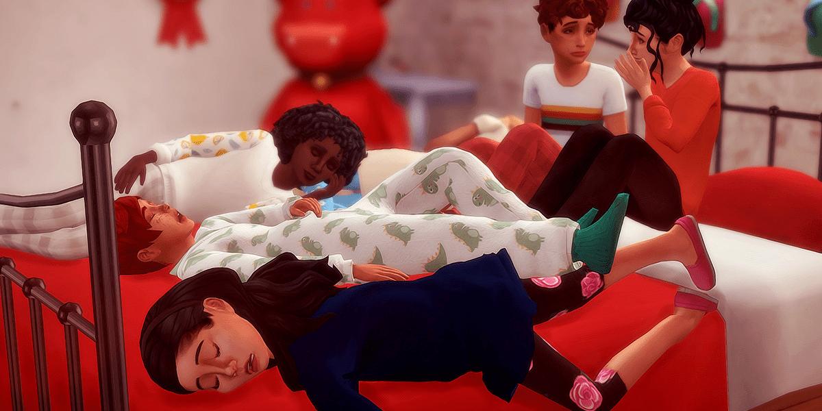 Почему персонаж не спит в Sims 4: причины и решение