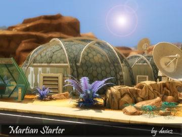 Cтартовый дом для инопланетянина Martian Starter