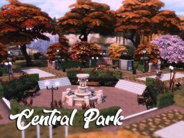 Центральный парк для Sims 4: Central Park