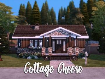 Викторианский коттедж для Sims 4: Cottage Cheese