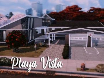 Просторный современный дом для Sims 4: Playa Vista