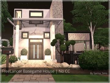 Компактный жилой дом Freelancer Basegame House