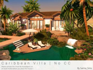 Вилла на острове Caribbean Villa