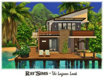 Уютный жилой дом для семьи с видом на лагуну Lagoon Look