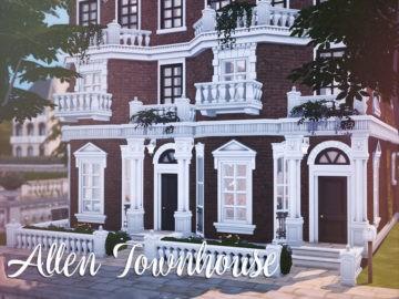 Уютный таунхаус с интерьером в стиле лофт Allen Townhouse