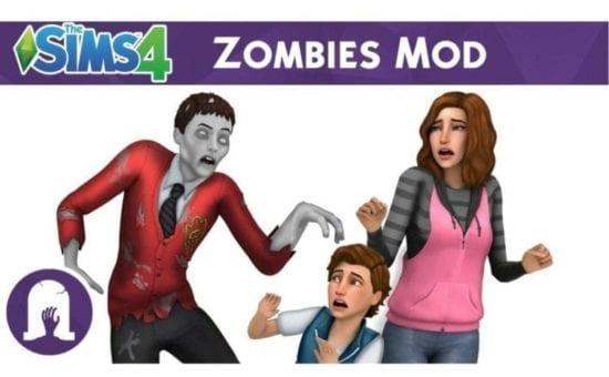 Мод на зомби в Sims 4: Zombie Apocalypse