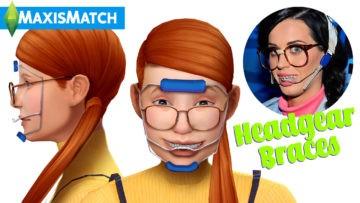Выравнивающие брекеты Headgear Braces