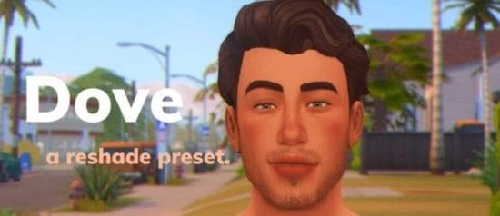 Пресет для Решейда в Sims 4: Dove ReShade Preset