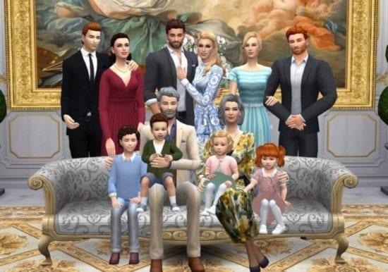 Мод на большую семью Sims 4: до 24 персонажей