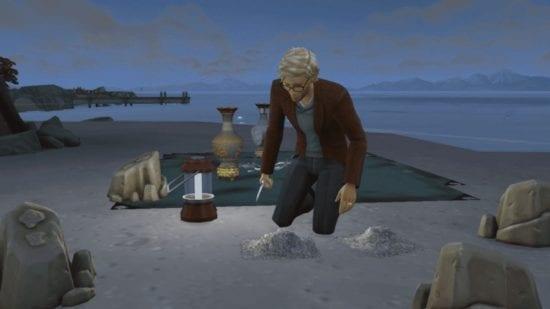 Мод на карьеру археолога Sims 4: Archaeology Career на русском