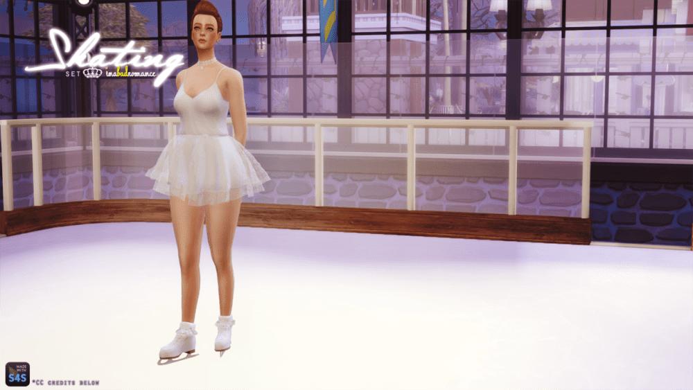 Мод на карьеру в фигурном катании для Sims 4: на русском