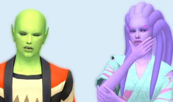 Пришельцы в Sims 4: похищение, способности, гибриды