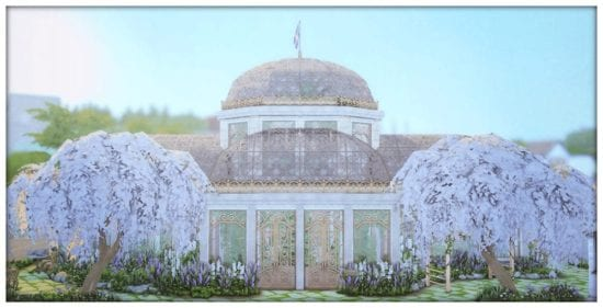 Ботанический сад для Sims 4: Botanical Garden
