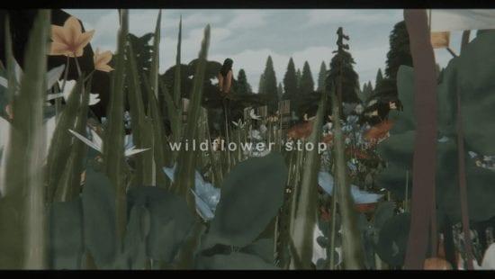 Цветочный заповедник для Sims 4: wildflower stop
