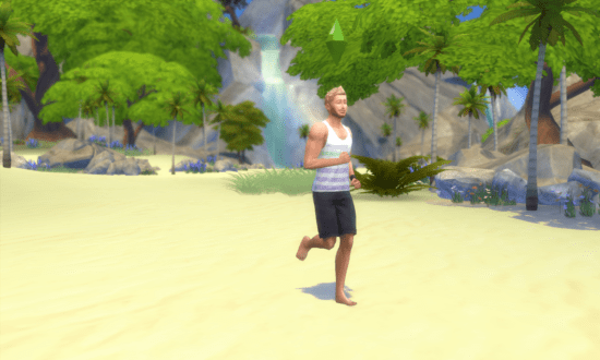 Мод Sims 4 на ходьбу вместо бега во время прогулок: No Run Everywhere