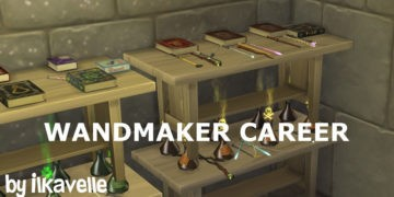 """Карьера """"Создатель волшебных палочек"""" для Sims 4 - Wandmaker Career"""