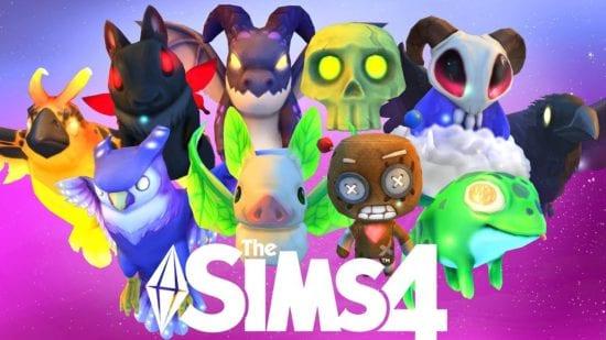 Мод на новые взаимодействия с фамильярами Sims 4: Familiar Interactions