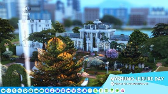 Участок для фестиваля Sims 4: SAN-MYSHUNO LEISURE DAY