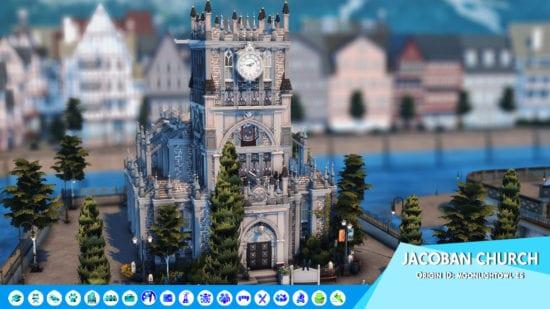 Церковь для Sims 4: JACOBAN CHURCH