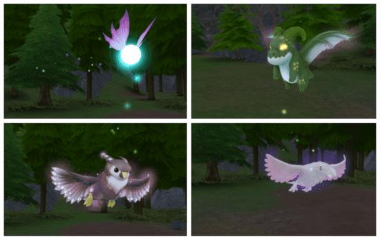 Мод на замену фамильяров в Sims 4: Familiar Overrides