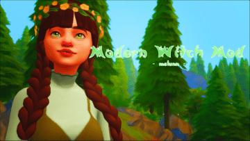 Мод на новые действия для ведьм в Sims 4: Modern Witch