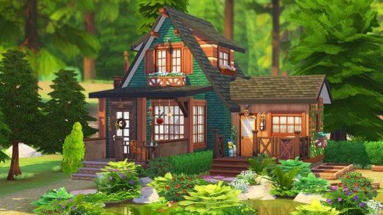 Дом в лесу для Sims 4: GARDENER'S DREAM HOME