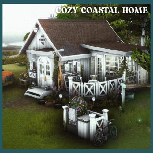 Уютный дом на берегу для Sims 4: COZY COASTAL HOME