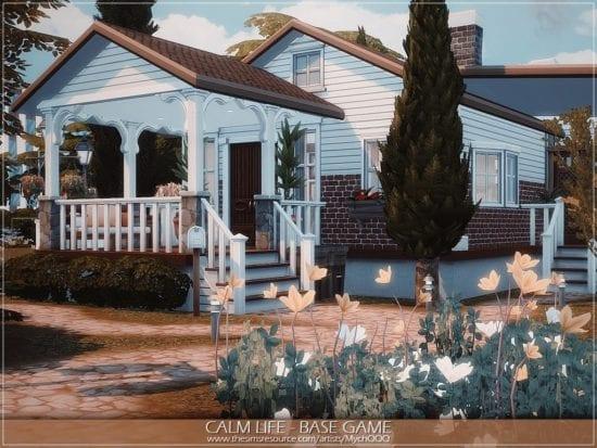 Дом в деревенском стиле Sims 4: Calm Life Base Game