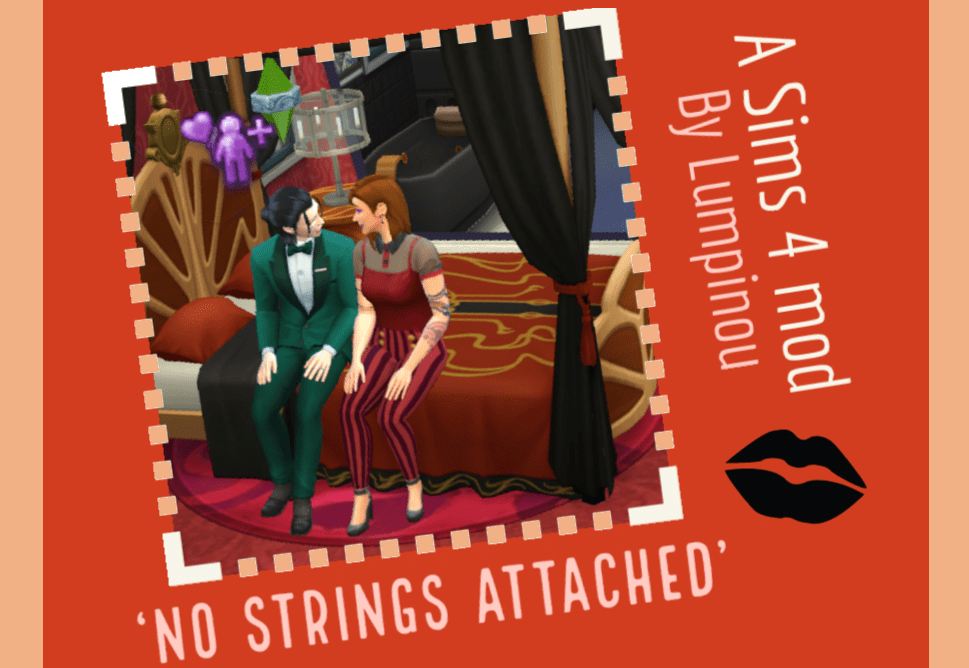 """Мод """"Вуху по дружбе"""" Sims 4: No Strings Attached"""