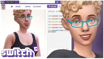 Мод на стримеров в Sims 4: Switch Streaming Mod