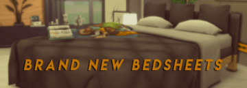 """Мод на смену постельного белья в Sims 4 - """"Brand New Bedsheets"""""""