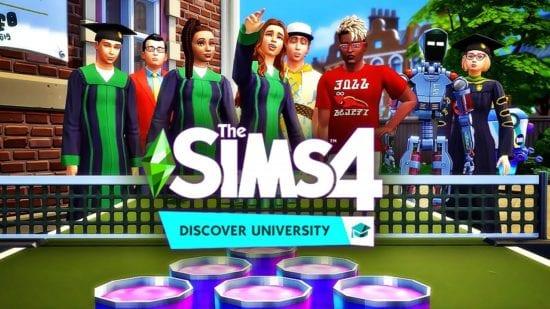 Мод на дорогой университет в Sims 4: University Costs More