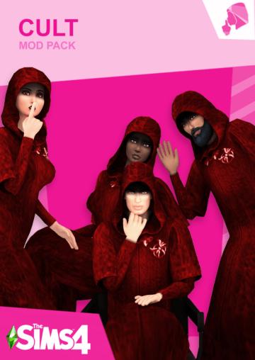 Cult Mod - мод на религиозный культ для Sims 4
