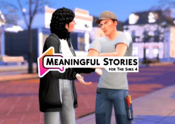 """Мод на улучшенные эмоции - """"Значимые истории"""" для Sims 4"""