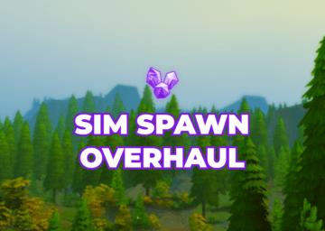 Мод на умную генерацию НПС для Sims 4: Sim Spawn Overhaul