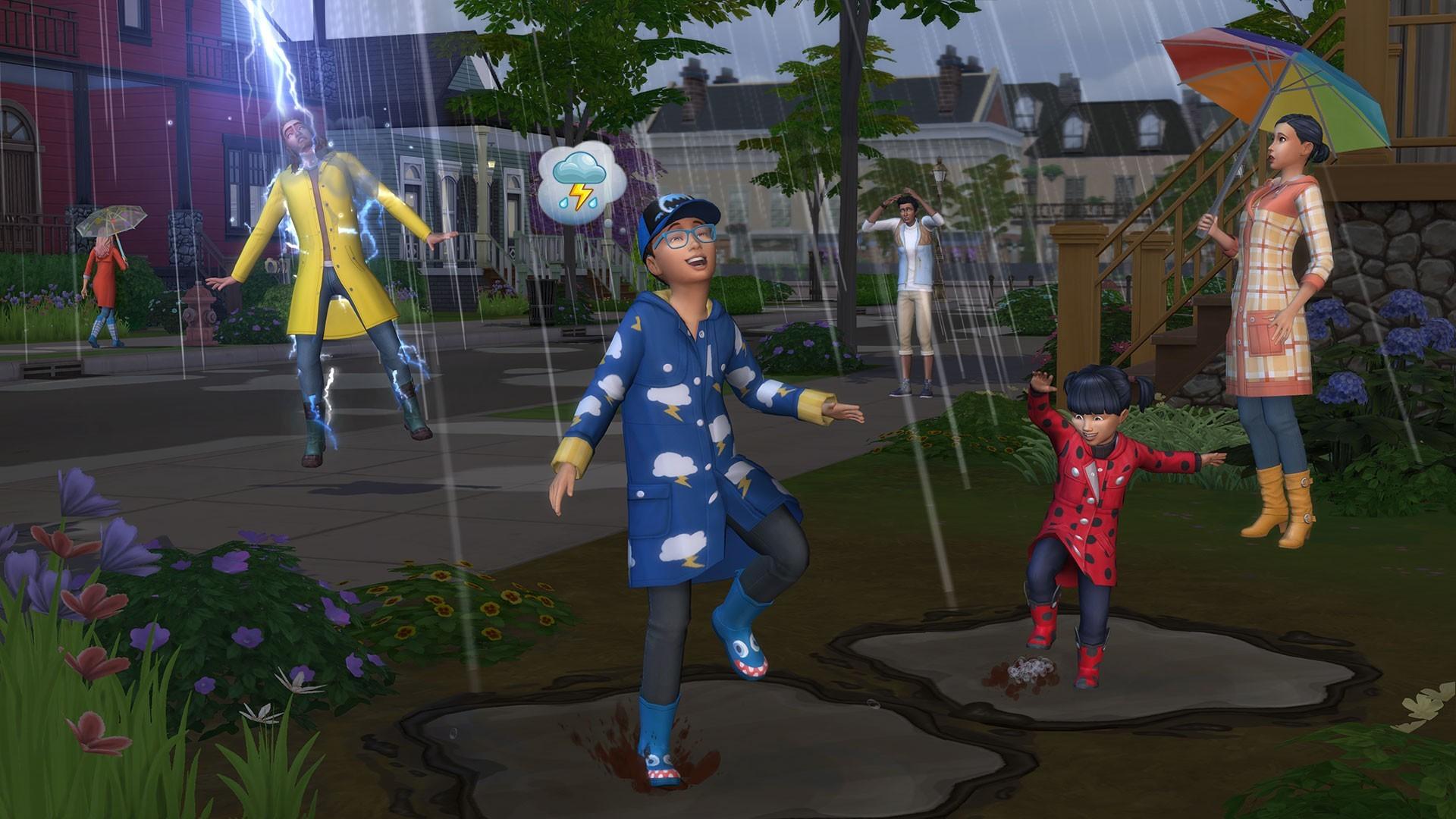 "Мод ""Погода влияет на настроение"" Sims 4: Weather Affects Mood More"