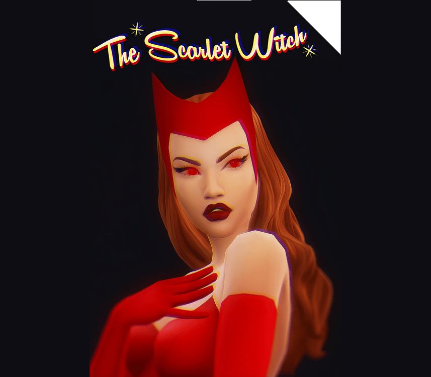 Наряд Алой Ведьмы THE SCARLET WITCH