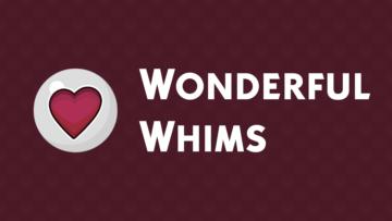 """Мод """"Wonderful Whims"""" - привлекательность и месячные для Sims 4"""