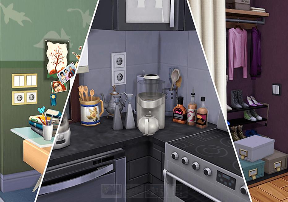 Мод на розетки и выключатели Sims 4: Switches and Sockets
