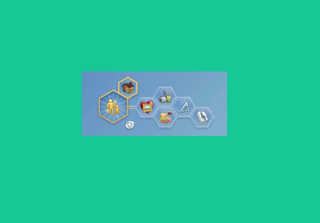 Мод на 5 черт характера для Sims 4 - More Traits in CAS