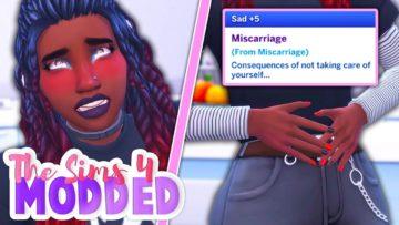 Мод на выкидыш и аборт Miscarriage & Abortion от LittleMsSam для Sims 4