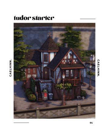 """Стартовый дом в стиле тюдор - """"Tudor Starter"""""""