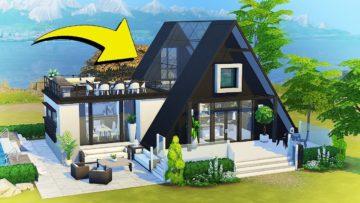 Как установить скачанный дом в Sims 4?