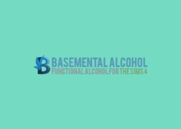 """Мод на алкоголь для Sims 4 - """"Basemental Alcohol"""""""