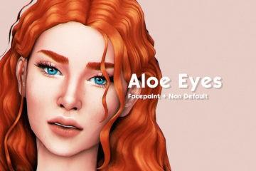 Недефолтные глаза для Sims 4 - Aloe Eyes