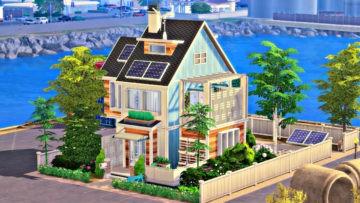 """Экологичный семейный дом для Sims 4 - """"Eco-Friendly Family Home"""""""
