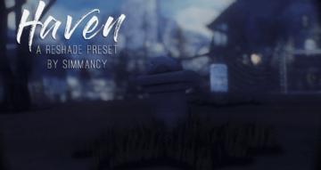 Мрачный и холодный пресет для ReShade Sims 4 - Haven