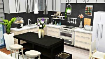 """Большая квартира в Sims 4 для обеспеченной семьи - """"Classy Apartment"""""""